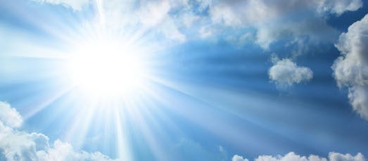 zonnen gezond